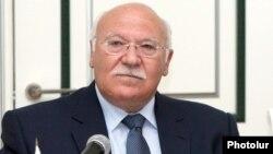 Armenia - Cyprus Attorney General Petros Clerides attends a meeting in Yerevan, 1Jul2013.