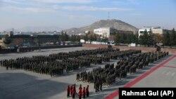 مراسم فراغت ده ها سرباز از اکادمی نظامی کابل November 29, 2020