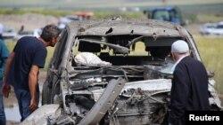 Jedna od prethodnih eksplozija u Dijarbakiru u maju 2016. godine