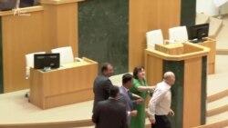 Сергій Гаврилов у парламенті Грузії