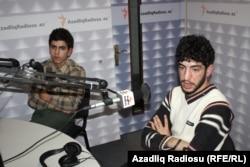 saödan sola: Elmin Bədəlov, Nihad Qulamzadə