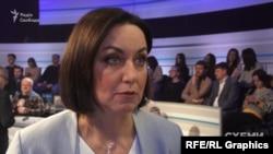 Ведуча теледебатів на Суспільному Мирослава Барчук зауважує, що кандидатам подобається ходити на олігархічні канали