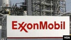 د امریکا د تېلو لوی شرکت اکسان موبېل «Exxon Mobil» نښه