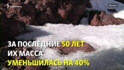 Лёд Эльбруса катастрофически тает. Ученые отметили потерю 40% массы за полвека
