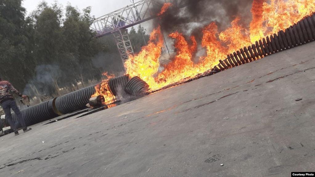عکس از اعتراضها در شیراز