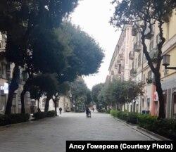 Савона үзәгендәге Корсо Италия урамы
