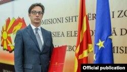 Predsednik Severne Makedonije Stevo Pendarovski