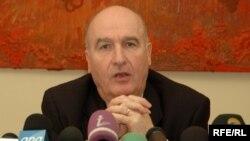 Minsk Qrupunun fransalı həmsədri Bernar Fasye, 20 sentyabr 2008