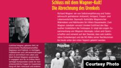 Coperta noii cărți a lui Gottfried Wagner