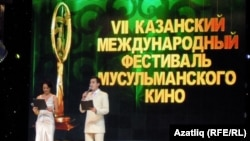 Olga Kabo and Ruzil Gâtine participated in the Muslim Film Festival held in September in Kazan.