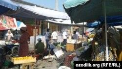 Продовольственный рынок «Коканд Музаффар».