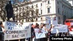 İyunun 3-də Londonda azərbaycanlıların etiraz aksiyası