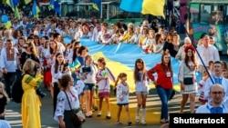 День Независимости Украины. Хмельницкий, 24 августа 2018 года