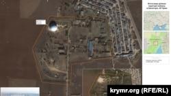 Снимок нового радиопрозрачного купола вблизи Евпатории