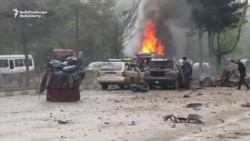 Blast Strikes NATO Convoy In Kabul