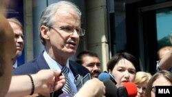 Директорот на Директоратот за проширување и соседска политика при Европската комисија Кристијан Даниелсон