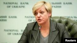 Голова правління НБУ Валерія Гонтарева