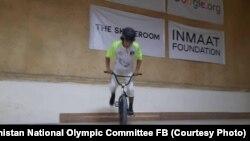 مسابقات سبک آزاد بایسکلرانی در کابل