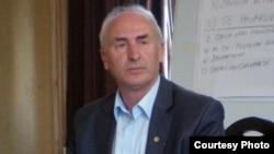 Kreu i Sindikatës së pavarur të metalpunuesve kosovarë, Hasan Abazi.
