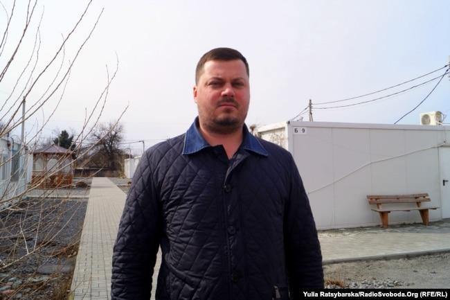 Дмитро Легкоступ, керівник модульного містечка для переселенців, Дніпро, 12 березня 2019 року