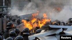 Ukraynada etiraz aksiyası