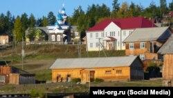 Поселок Нелькан в Хабаровском крае