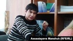 Kazakh activist Rinat Kibraev was one of those jailed. (file photo)