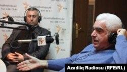 Soylu Atalı və Rəhim Əliyev (sağda)