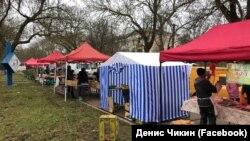 Ярмарка на Алее героев в Гвардейском Симферопольского района