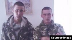 Российские военнослужащие Ильдар Сахапов и Федор Басимов.