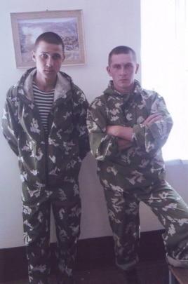 Ildar Sakhapov and Fyodor Basimov