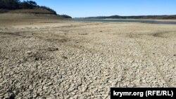 Симферопольское водохранилище, апрель 2020 год