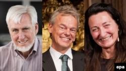 Нобелівські лауреати з медицини 2014 року Джон О'Кіфф та подружжя Едвард та Мей-Брітт Мозери