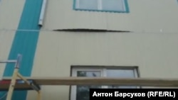 Дом в Новосибирской области, построенный для переселения людей из аварийного жилья