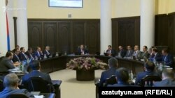 Заседание правительства Армении, Ереван, 6 июня 2019 г.