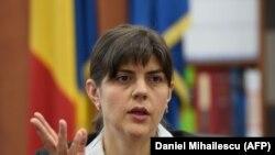 Fosta șefă DNA, Laura Codruța Kovesi (foto arhiva)