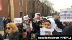 Protest la Baku, în sprijinul lui Mehman Huseynov