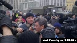 Москва, акция протеста против нарушений на выборах, 10 декабря 2011