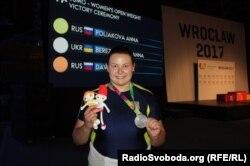 Іванна Березовська - срібна призерка Всесвітніх ігор