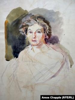 Gertrud Kauders önarcképe
