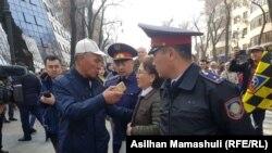 Задержания в Алматы. 22 марта 2019 года.
