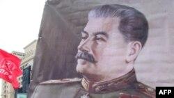 Staljinov portret, Moskva, 2010.