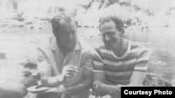Ефим Эткинд и Александр Солженицын, 1966