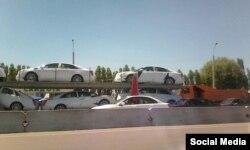 Bu avtomobillar ShHT sammiti mehmonlariga xizmat qilishi aytilmoqda.