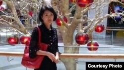 Ольга Тен, уехавшая из Казахстана в Великобританию. Фото из личного архива.