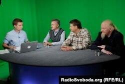 «Піккардійська терція». Зліва на право: Ярослав Нудик, Андрій Капраль та Володимир Якимець