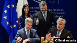 Strasburqda imzalama mərasimi