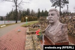 Бюст Сталіна на Лініі Сталіна