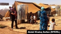 مخيّم دوميز للاجئين السوريين قرب دهوك
