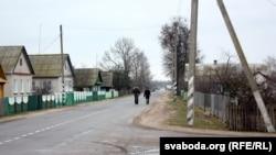 На вуліцы ў Аброве
